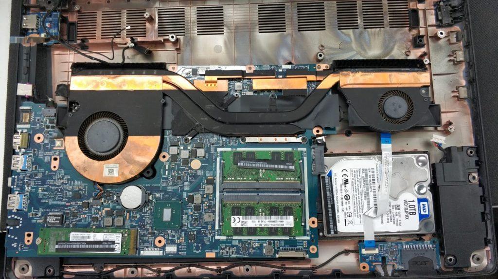 Placa de baza si sistem de racire heatpipe Acer Aspire VN7-792G-711J