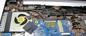 Curatare de raf si inlocuire pasta termica Acer Aspire V5-571