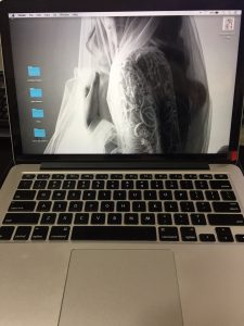 montaj dsiplay apple macbook pro 13 retina a1502